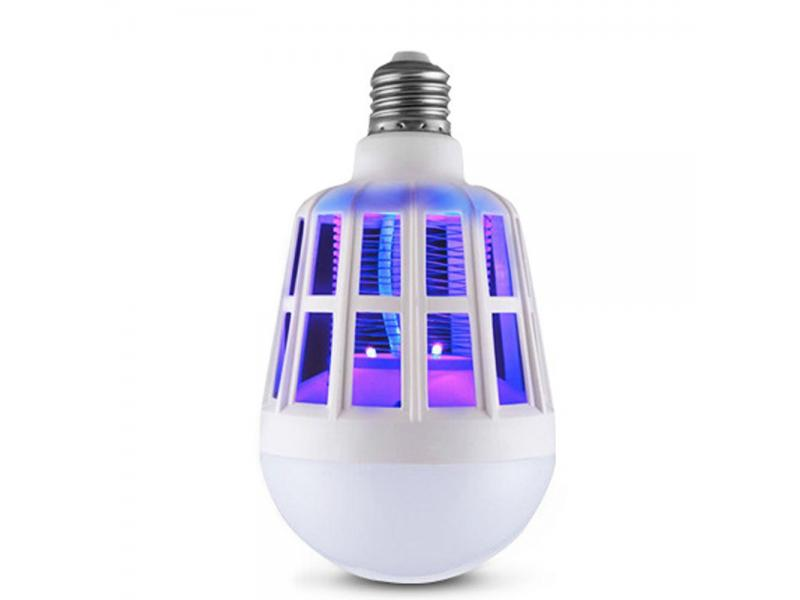 9W LED Bulb Mosquito Killer Lamp 220-240V Electric Trap Mosquito Killer Light for outdoor camping Ni