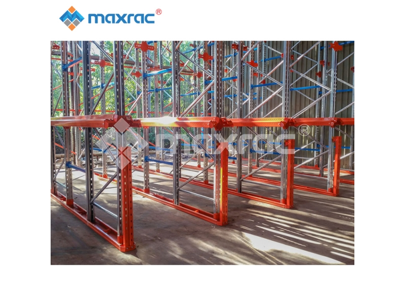 High Density Warehouse Drive Through Racking Steel Drive In Racks