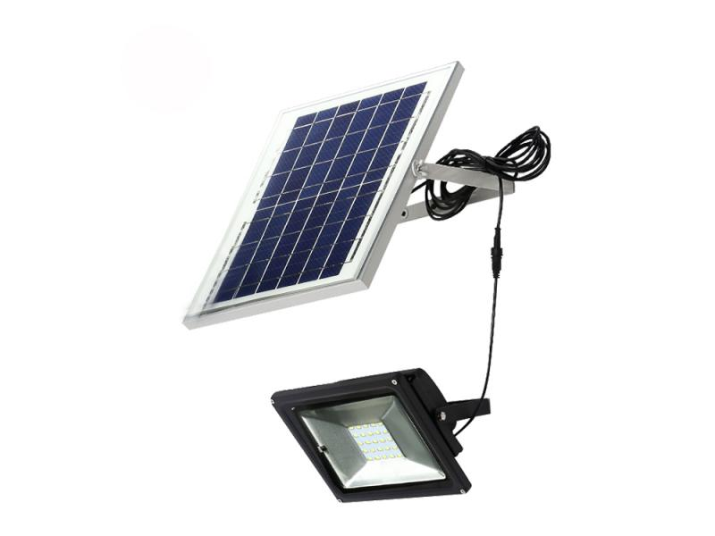 solar cell 10w 20w 30w 50w 100w Solar power led  solar garden light rechargeable flood lighting