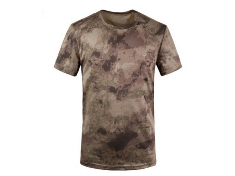 Men's short sleeve 100% polyester sublimation print t-shirt
