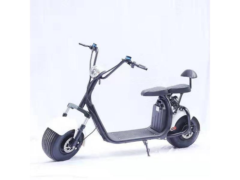 Ready to ship e scooter 60v 1500w electric cityco with removable battery