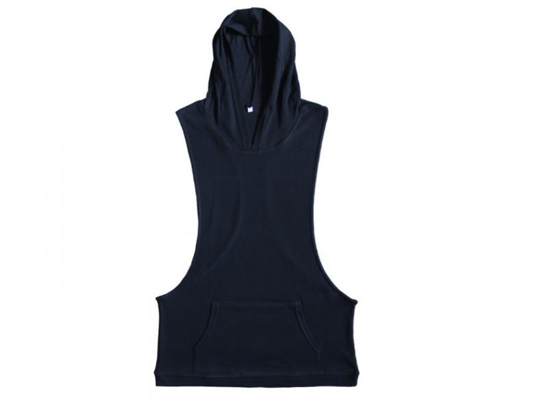 2019 hot sale Men's sleeveless with hoody tank top