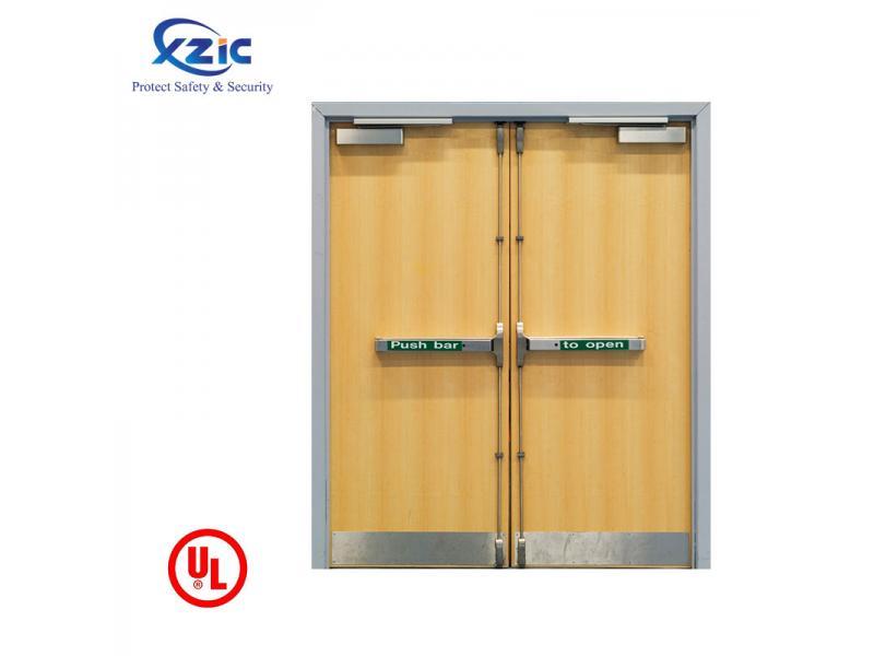UL wooden fire door