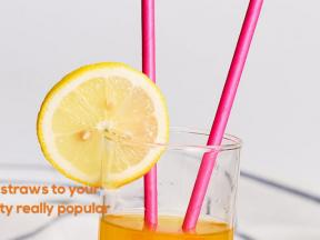 colossal paper straws