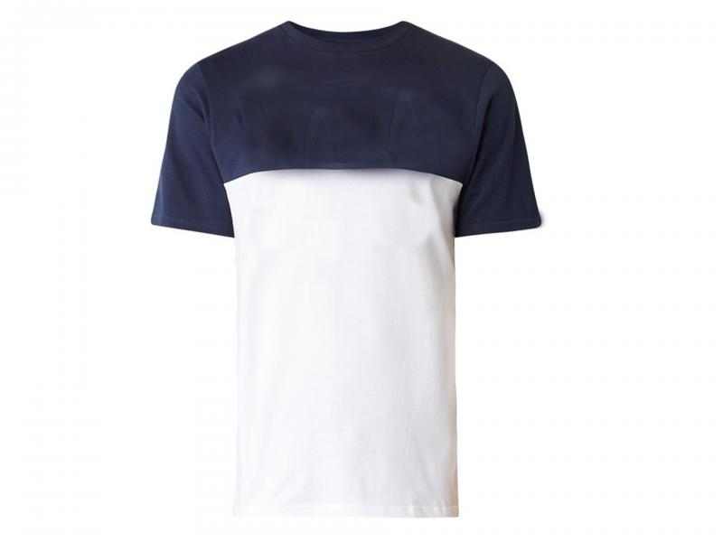 Men's short sleeve summber two color t-shirt