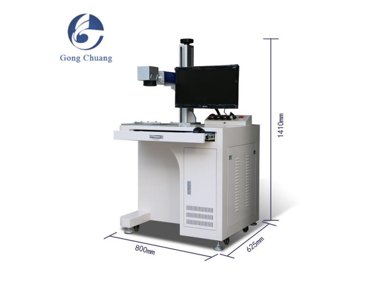 Color Mini portable Fiber Laser Marking Machine for jewelry metal bearing watche ring