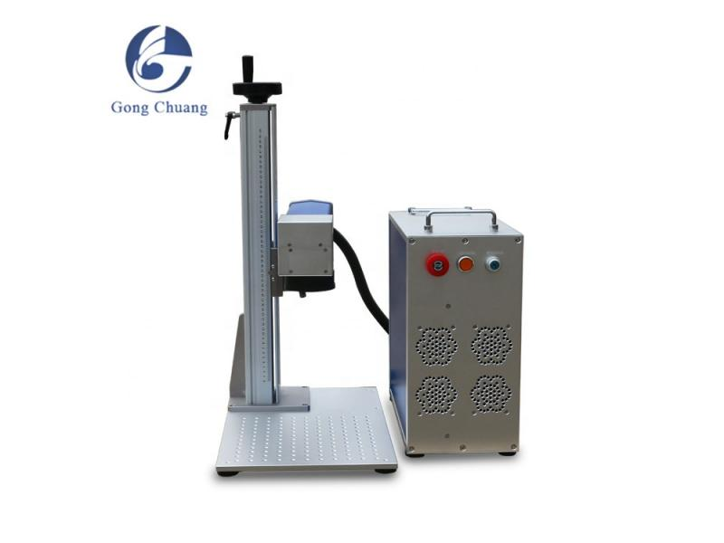 deep engraving 30w 50w 100w portable desktop fiber laser marking machine
