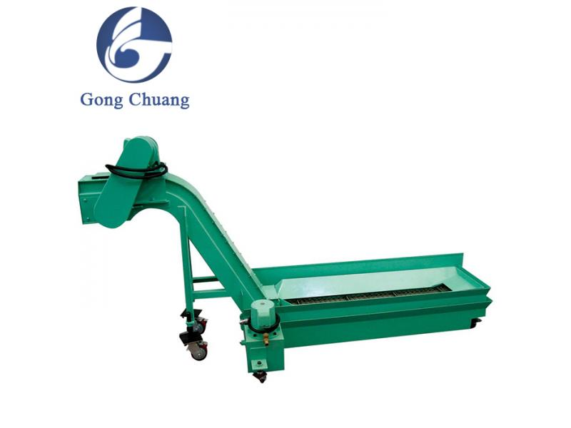 Hot sale hinged belt type chip conveyors