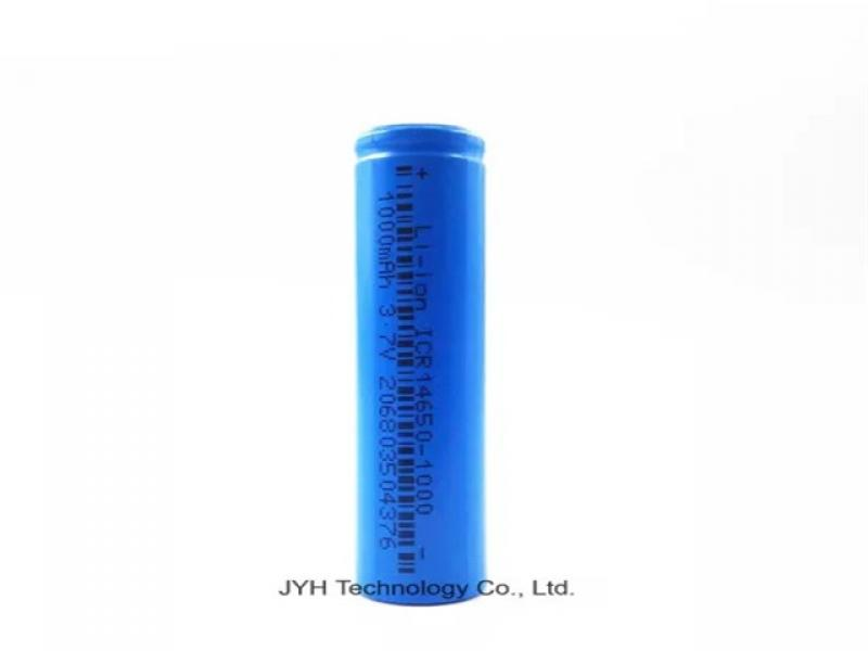 Customized 3.7V Icr 14650 1000mAh Lithium Ion Cell Rechargeable Battery Bank for Electric Toothbursh