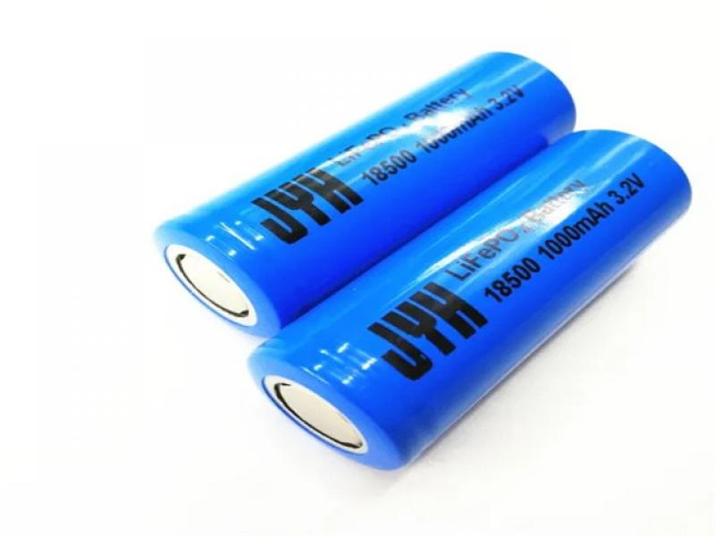 Standard LiFePO4 Battery 18500 3.2V 1000mAh for Solar Battery Bank