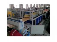 High quality PVC WPC plastic hollow door board panel extrusion making machine