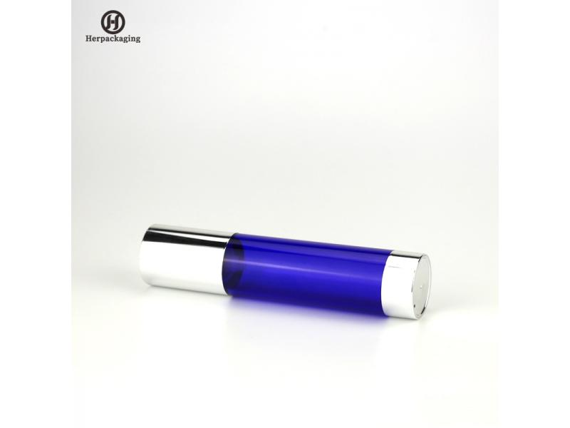HXL429 Empty Acrylic airless cream and Lotion Bottle cosmetic packaging skin care container