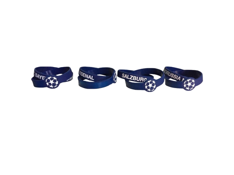 Champions League Silicone bracelet double ring