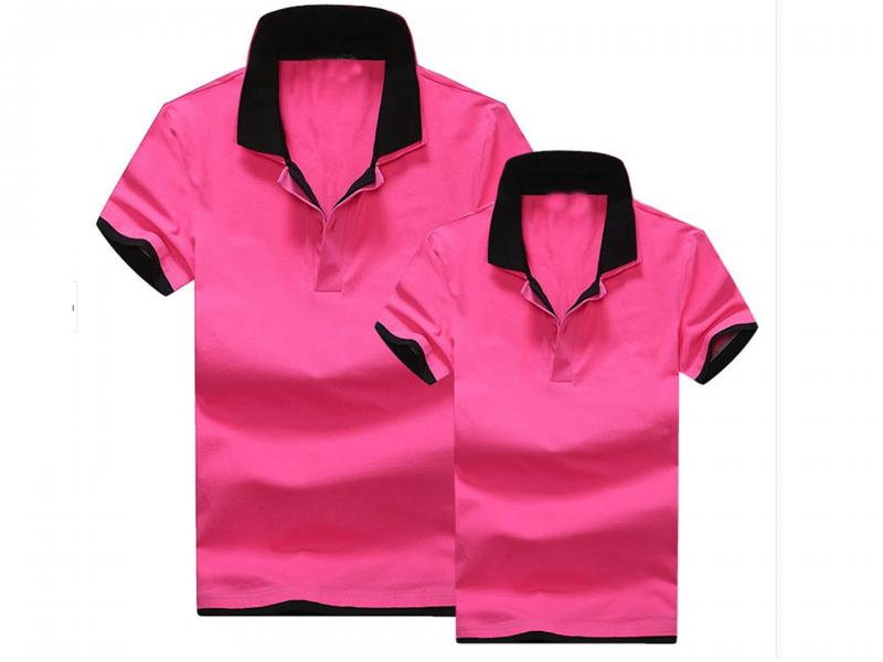2019 hot sale short sleeve lovers polo shirt
