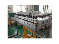High quality PVC WPC wood plastic composite celuca skinning foam board sheet making machine producti