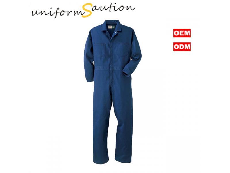 Custom cotton workwear coverall uniforms
