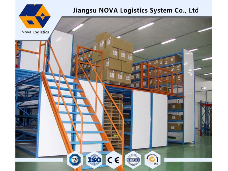 Heavy duty warehouse storage steel Flush mezzanine floor with high quality in china