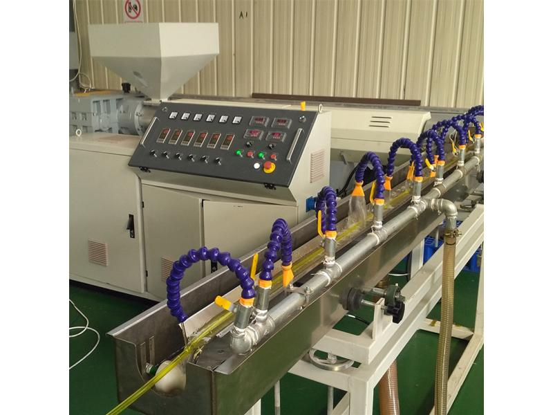 PVC fiber reinforced hose pipe garden hose pipe making machine extrusion line