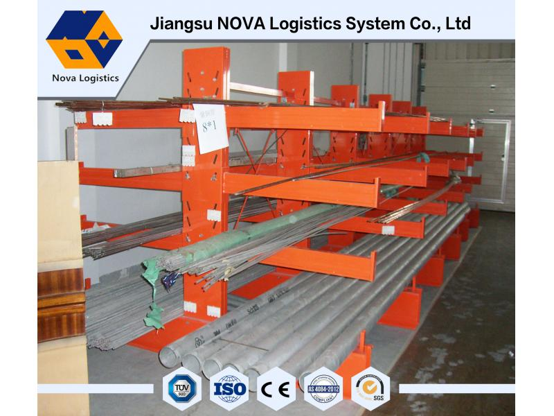 Chinese supplier heavy duty cantilever warehouse steel rack from Nanjing