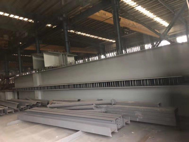 Steel structure metal material