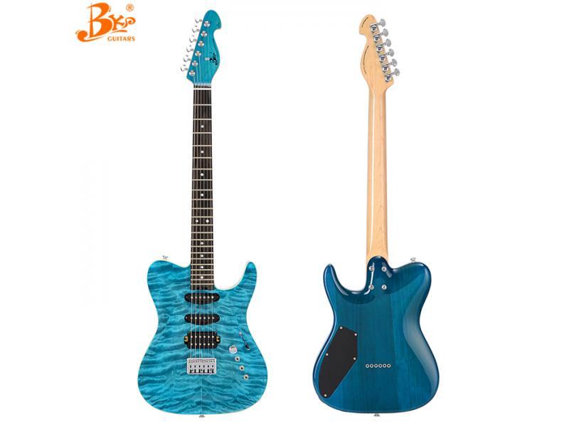BKP(black pearl) guitars RT-CUSTOM-QB archtop electric guitar ready to ship