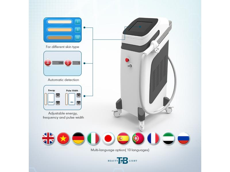 Vertical Diode Laser Hair Removal Machine Manufacturer Factory