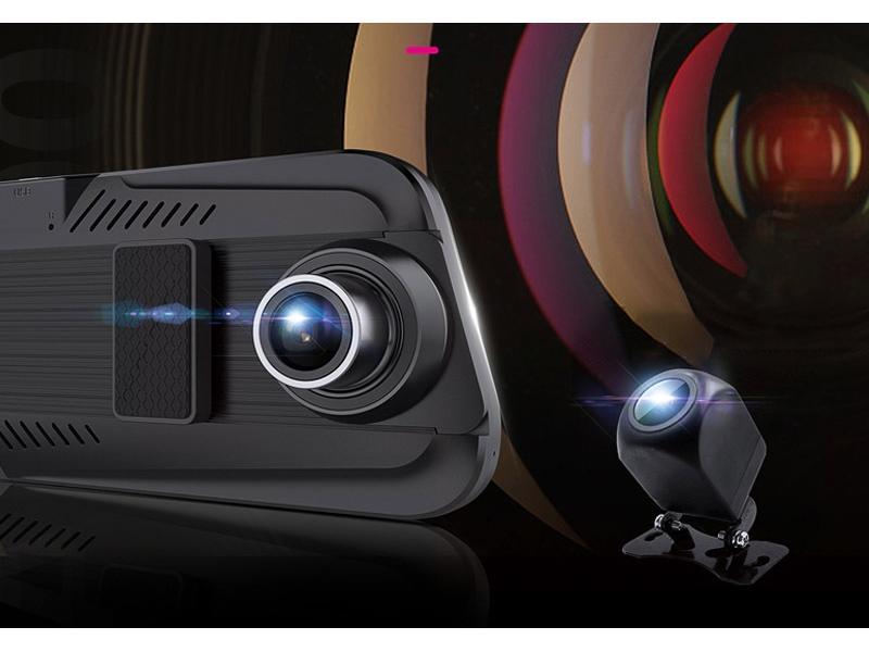 New streaming media dashcam camera electronic dog 360 panoramic hd night vision recorder