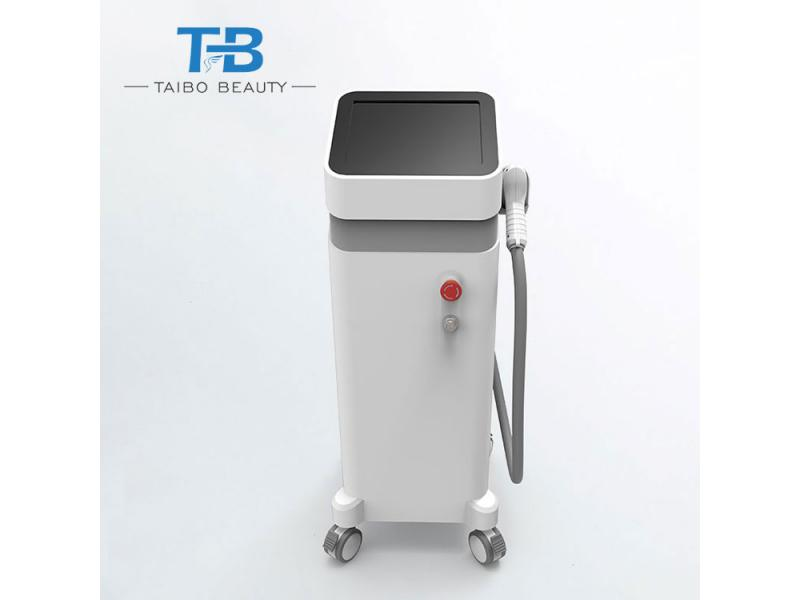 Vertical 755+808+1064+808nm Diode Laser Hair Removal Machine