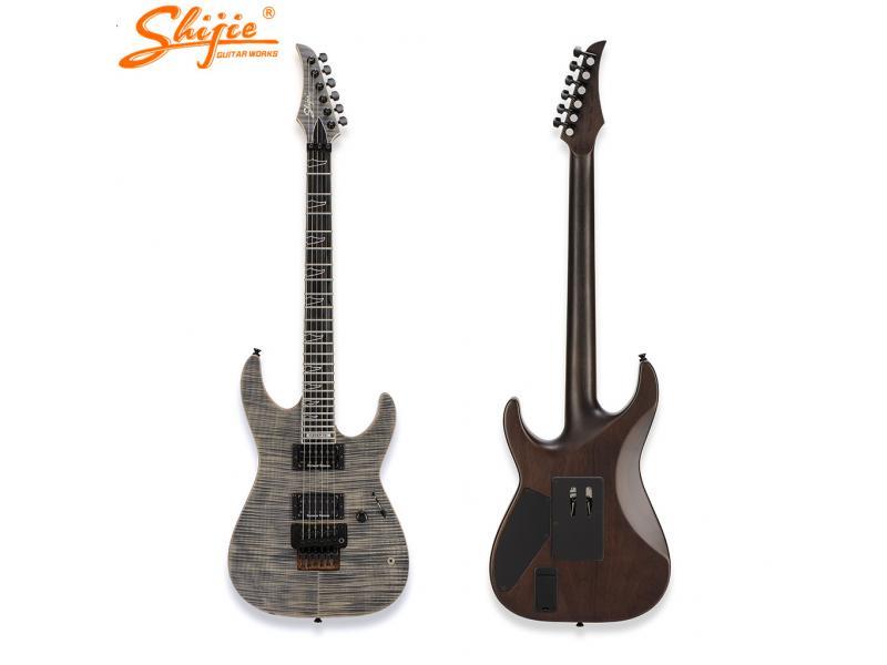 ready to ship stock shijie guitar BP-MASTER-FR model seymour duncan pickups floyd rose original 2000