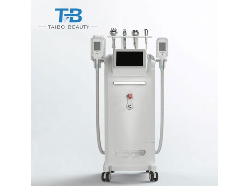 Five heads Freeze Weight loss body freeze fat ice cooling slimming machine for salon use