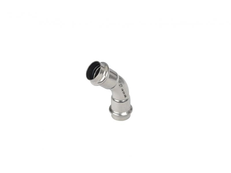 Hiesway stainless steel clamping pipe fitting
