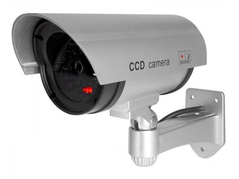 False camera monitor simulation camera monitoring anti-theft camera probe with light gun type outdoo