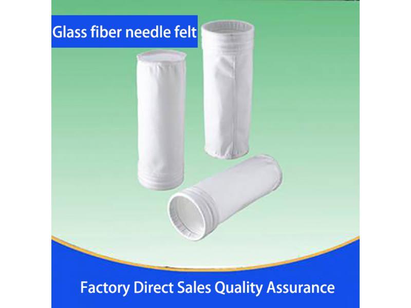 Glass fiber needle felt
