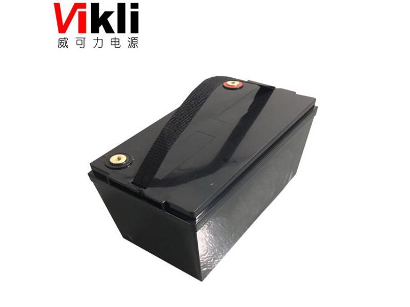 12.8V 50Ah lithium LiFePO4 battery pack for Solar street light