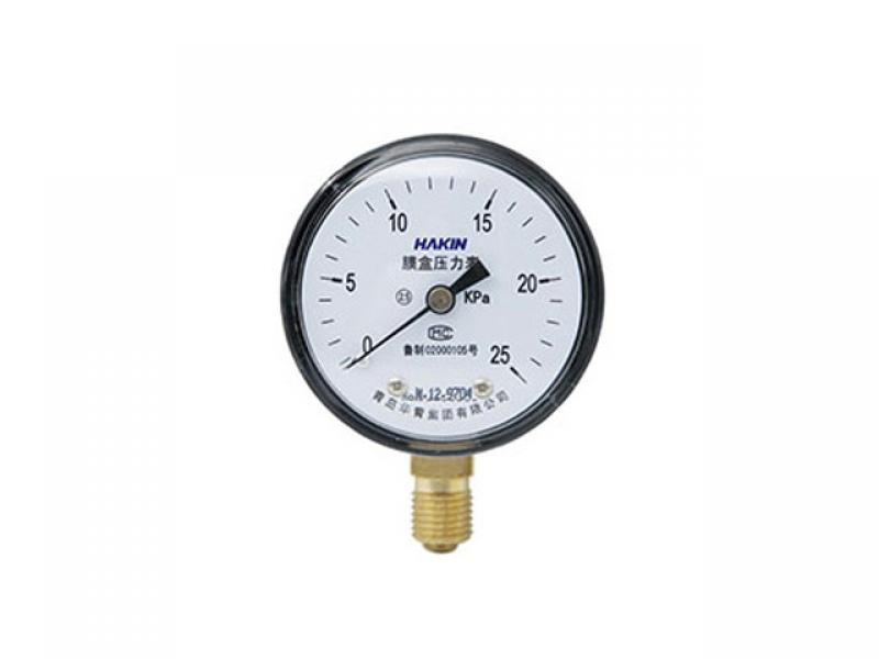 Membrane pressure gauge