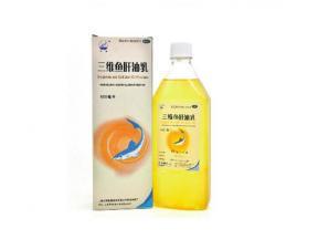 Three-dimensional cod liver oil