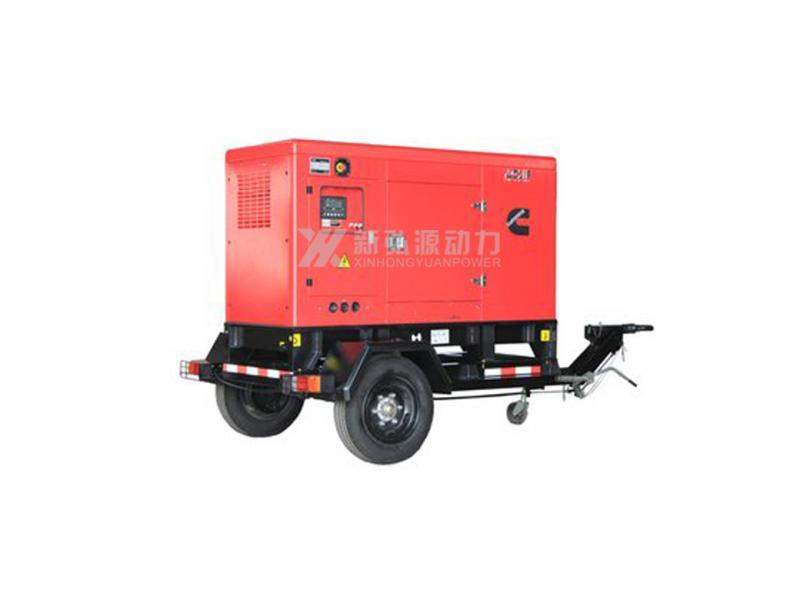 Weichai 100KW mobile power station