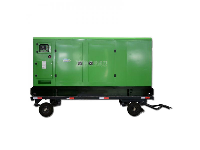 Yuchai 300KW mobile silent unit