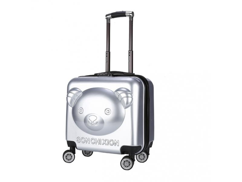 New Bear Kid's Travel Trolley luggage