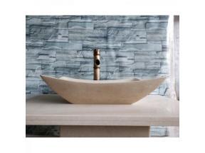 Natural stone wash basin marble washbasin bathroom European counter basin