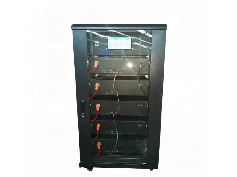 30KWH 48V 400Ah lithium LiFePO4 battery pack all in one cabinet for home energy storage system,Telec