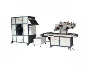 tatageless  garment label printing machine , shirt label printing machine ,multi color screen printi