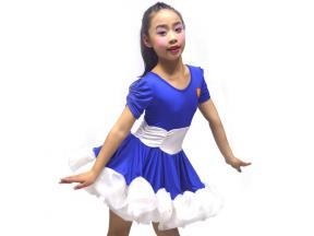 Girl latin dance skirt Latin performance uniform