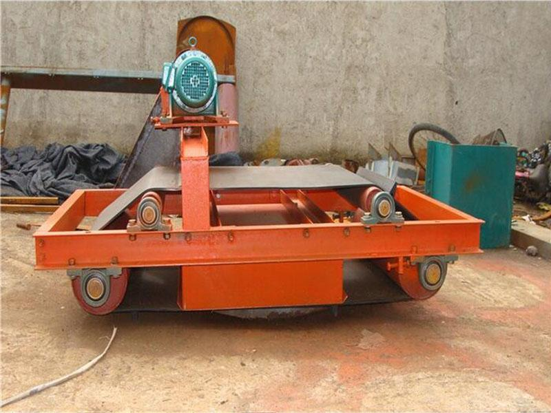 Electromagnetic iron remover