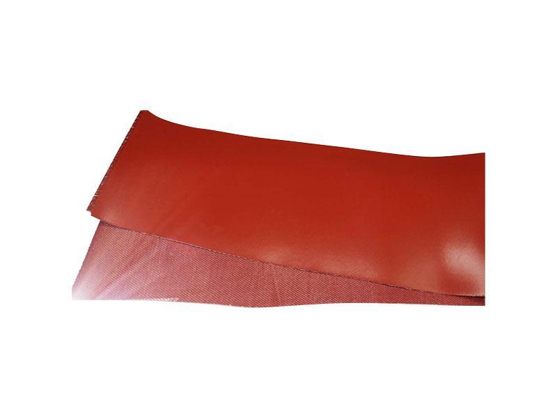 Fluororubber fiberglass composite cloth