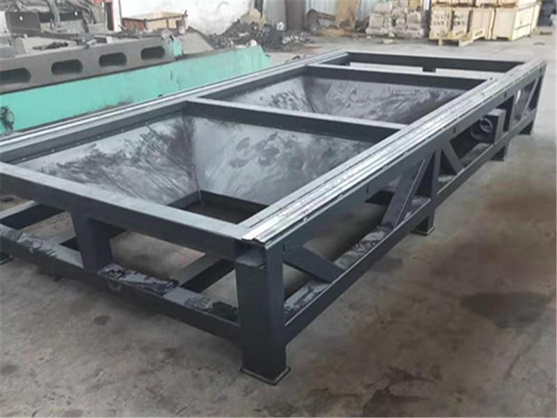 The lathe bed base