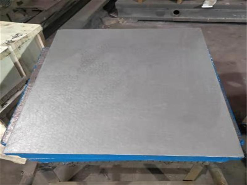 Cast iron platform