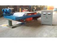 Dry self-discharging permanent magnet separator