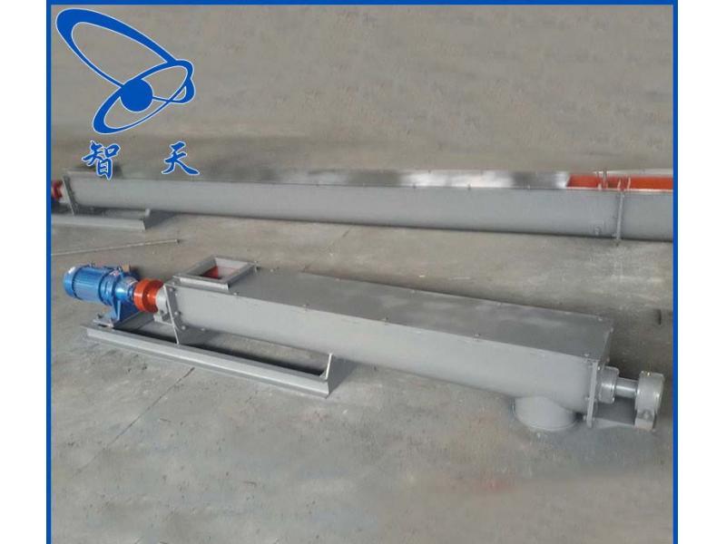 Tubular screw conveyor Stainless steel screw conveyor hoist