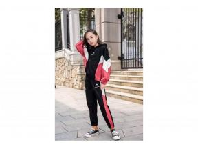 Children's clothing 2019Spring and Autumn New Style Girls Leisure Sports Colorful Suit